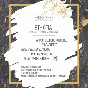 Mobstery Ethiopia Specialty Coffee – 100% arabica -200g