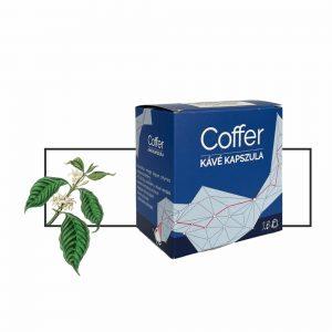 Coffer Brazil Santos 100% arabica – Full City kapszulás kávé