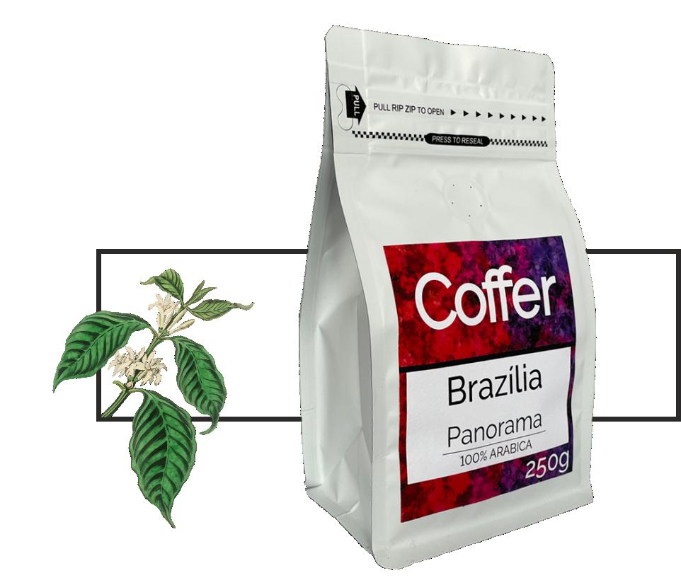 Coffer Brazília Panorama pörkölt szemes kávé