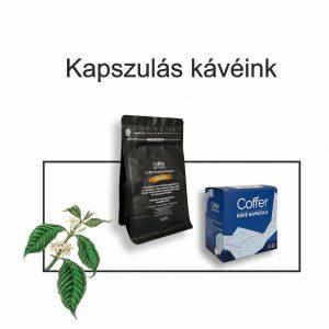 Coffer kapszulás kávéink